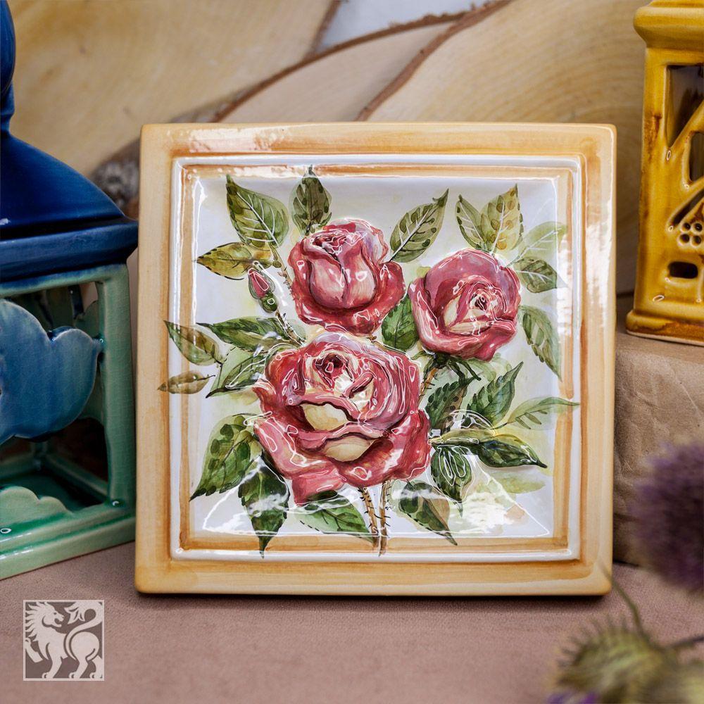 Розы-декор фото