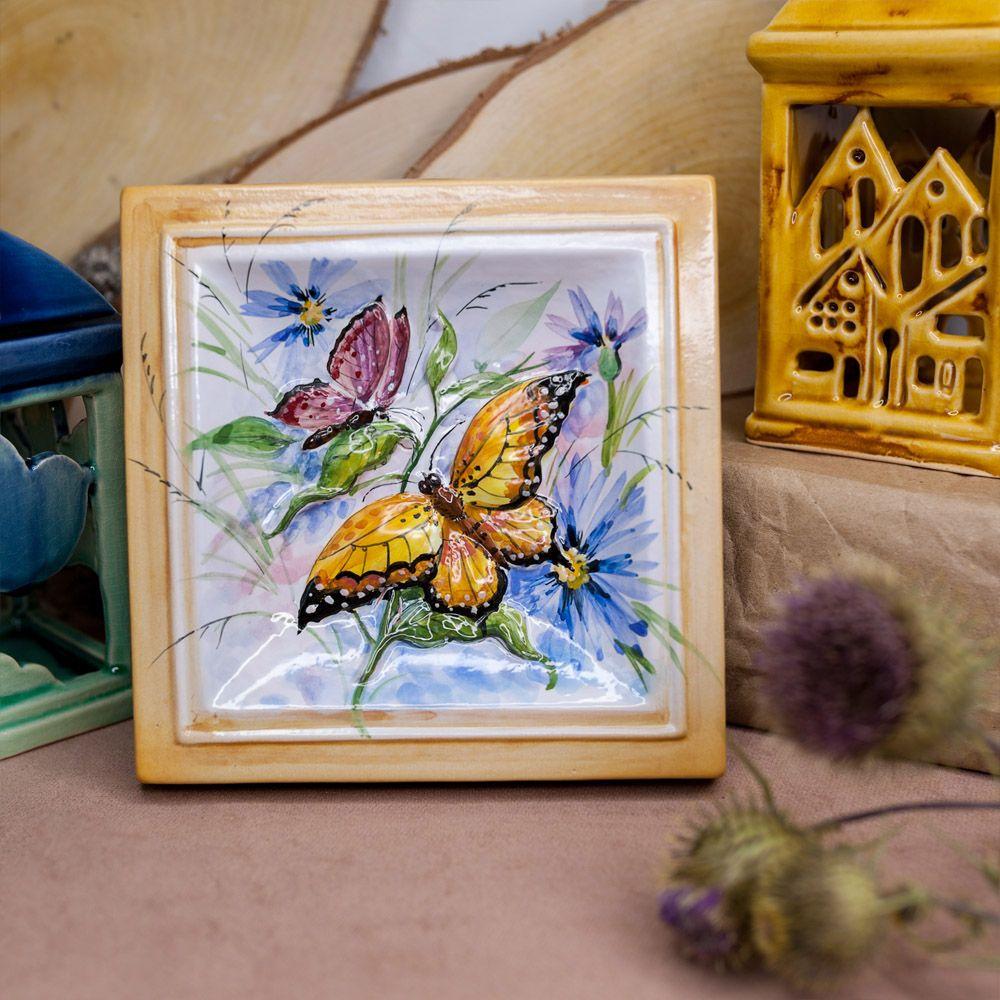 Бабочки две бабочки-декор фото