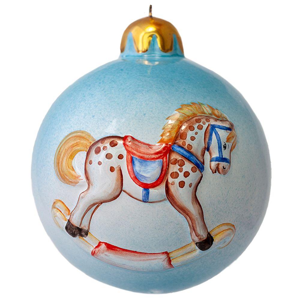 Шар голубой (лошадка, паровоз) фото