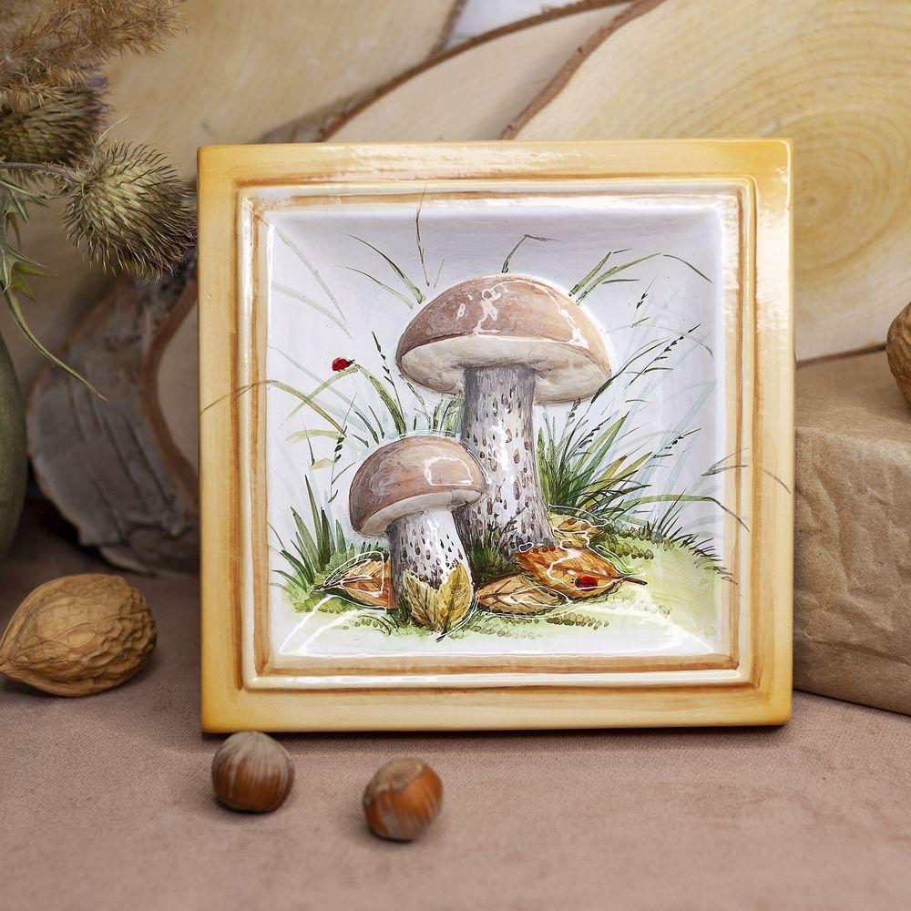 Подберезовики грибы-декор фото