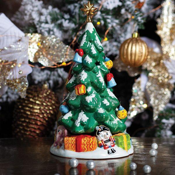 Подсвечник-Елка 15 крючков на елке (без игрушек) фото