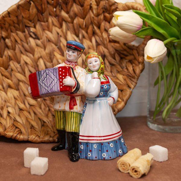 Колокол Играй гармонь (гармонист с девушкой) фото