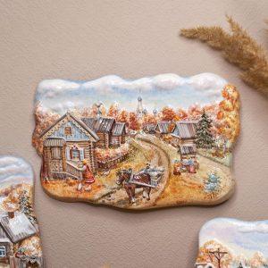 Деревенская жизнь осень фото