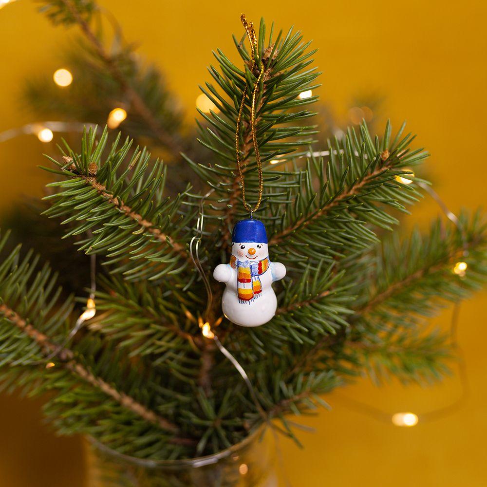 Снеговичок (мини) фото