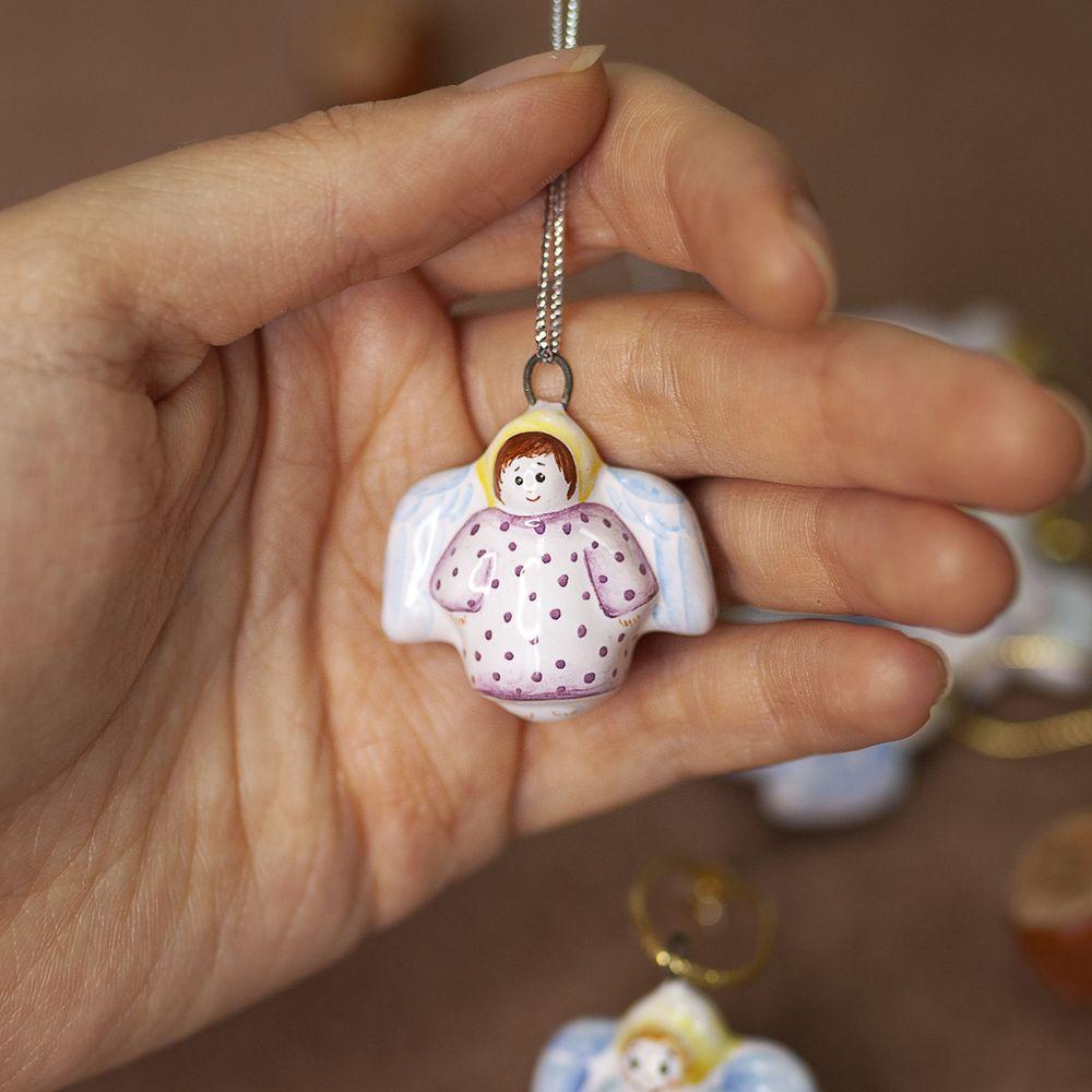 Ангелочек в розовом платье (мини) фото