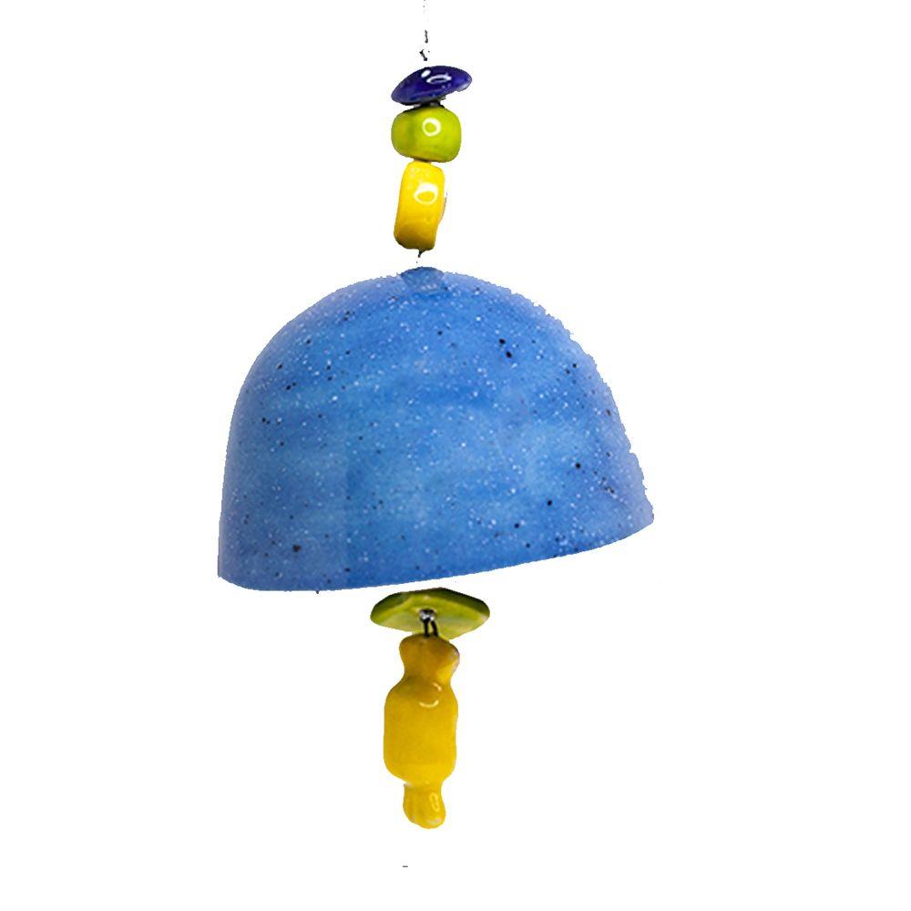 Колокольчик декоративный глазурь средний №2 фото