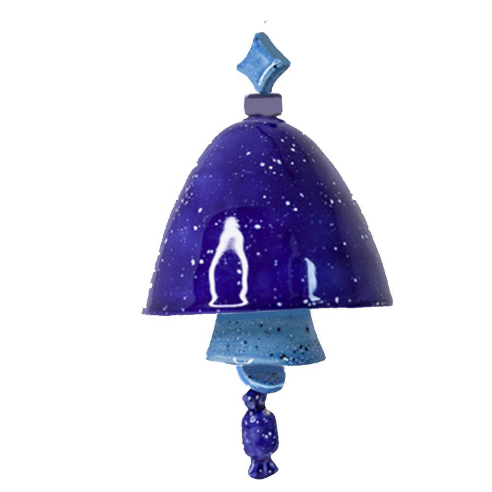 Колокольчик декоративный глазурь большой №5 фото
