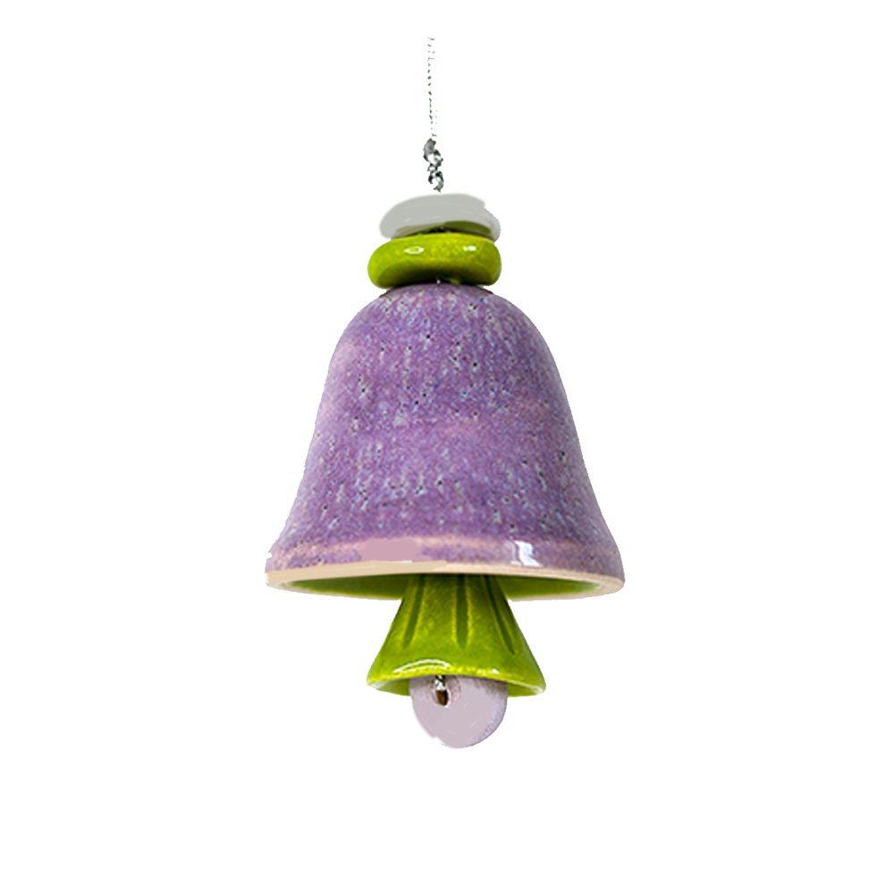 Колокольчик декоративный глазурь малый №2 фото