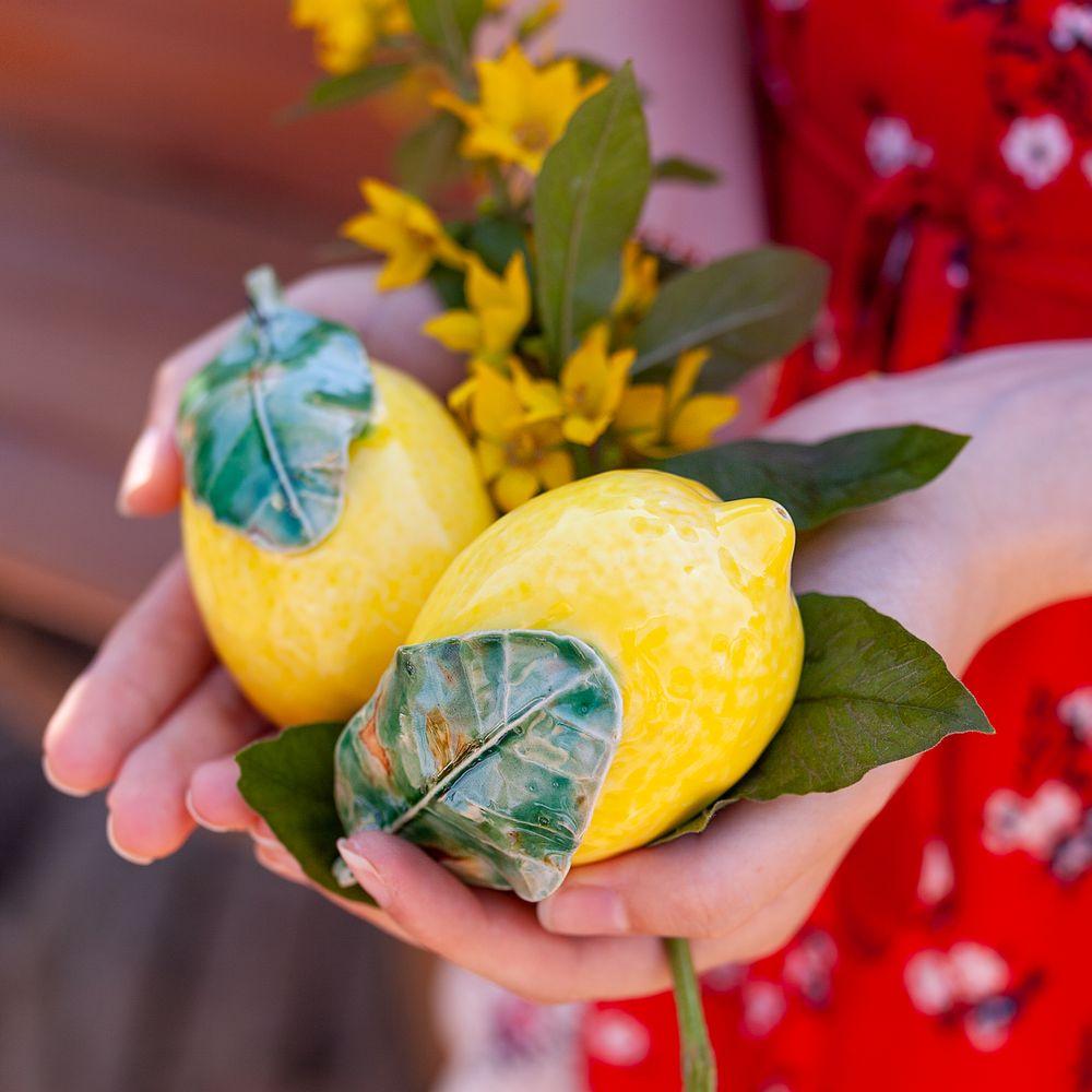 Лимон (подвес) фото