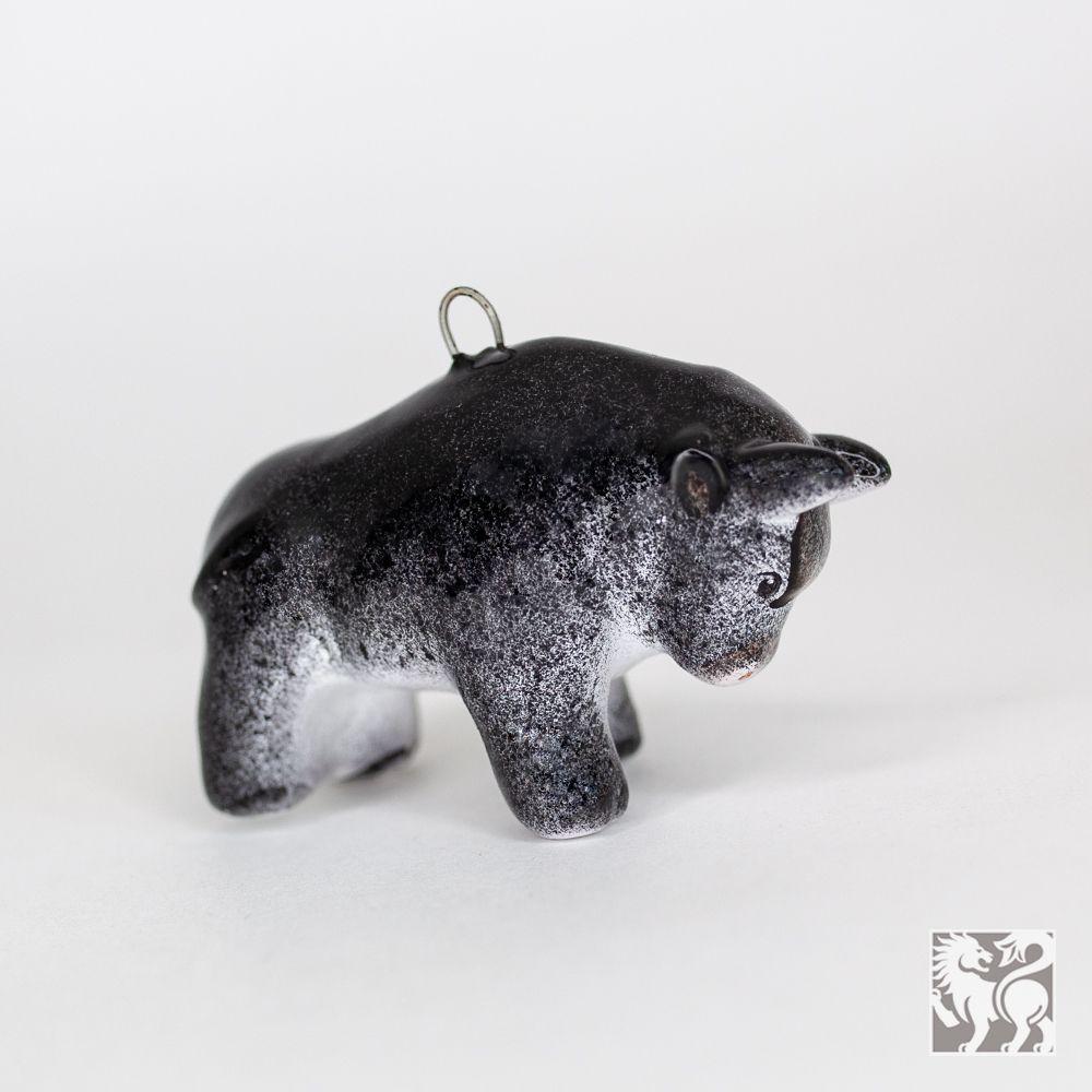 Бычок чёрный (мини) фото