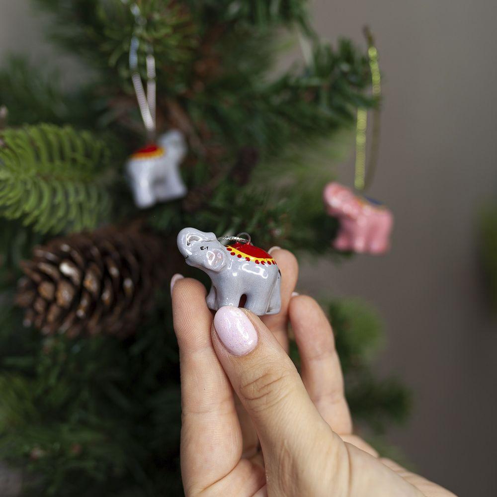 Слоник серый (мини) фото